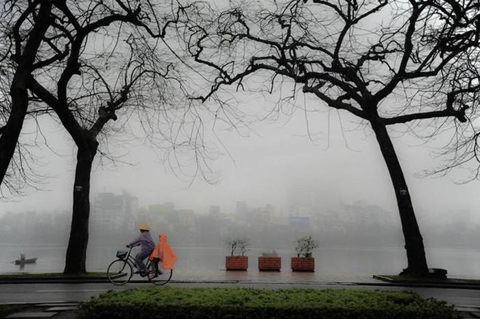 Miền Bắc có mưa phùn và sương mù rải rác