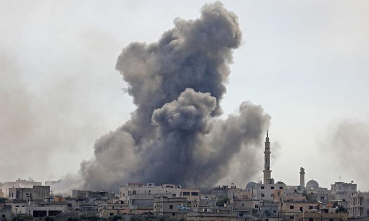 Syria và Thổ Nhĩ Kỳ đấu pháo