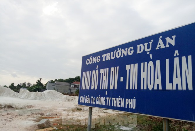 Cận cảnh khu đất khiến lãnh đạo Công ty Thiên Phú bị bắt