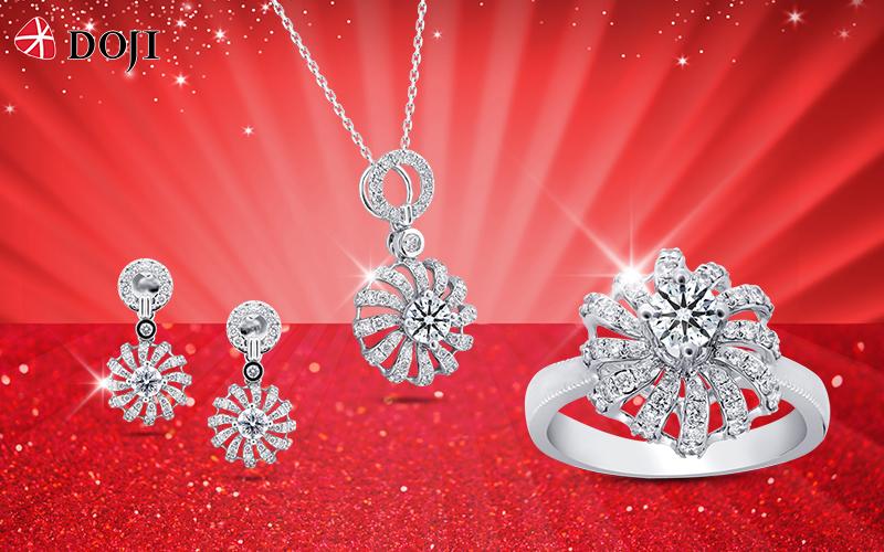 DOJI và Thế giới Kim cương tung ưu đãi lớn nhất năm mừng sinh nhật