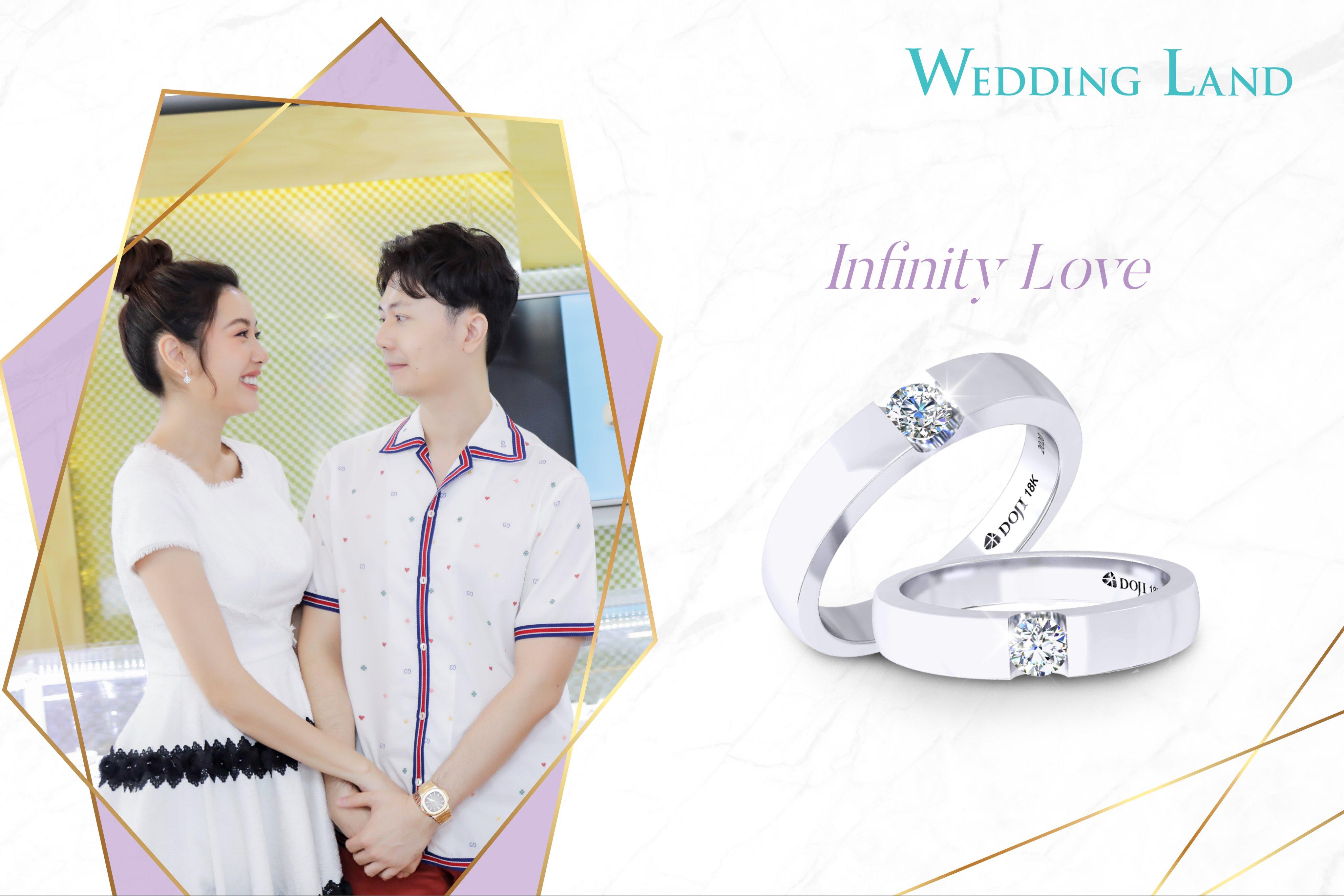 Đôi nhẫn cưới của Á hậu Thúy Vân chọn cho ngày chung đôi có gì đặc biệt?