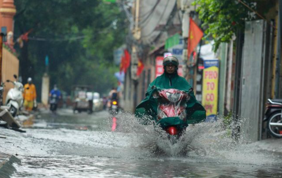 Thời tiết ngày 15/10: Bắc Bộ và Bắc Trung Bộ có mưa to đến rất to