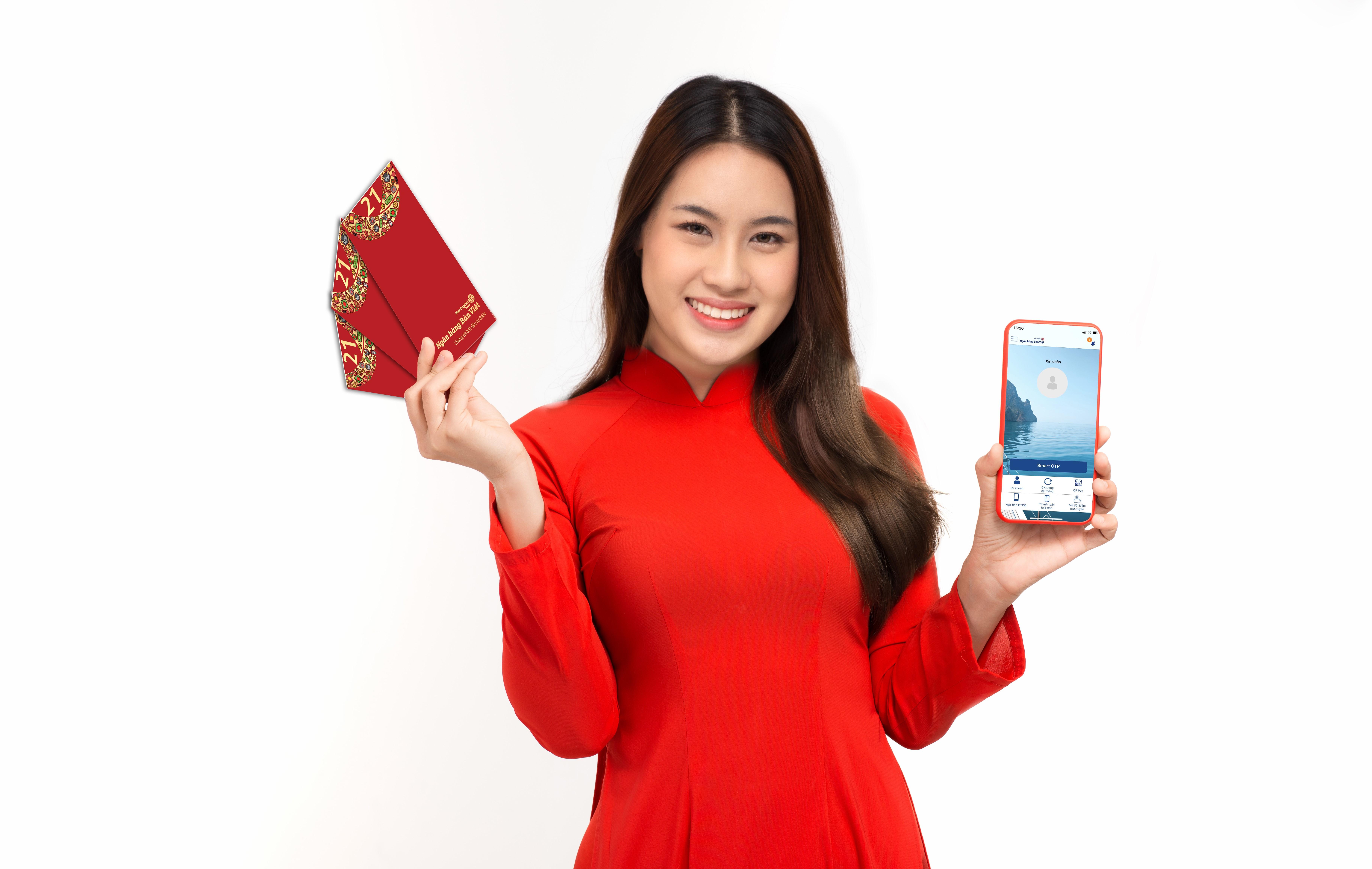 Đón Tết an toàn cùng các dịch vụ online từ ngân hàng Bản Việt