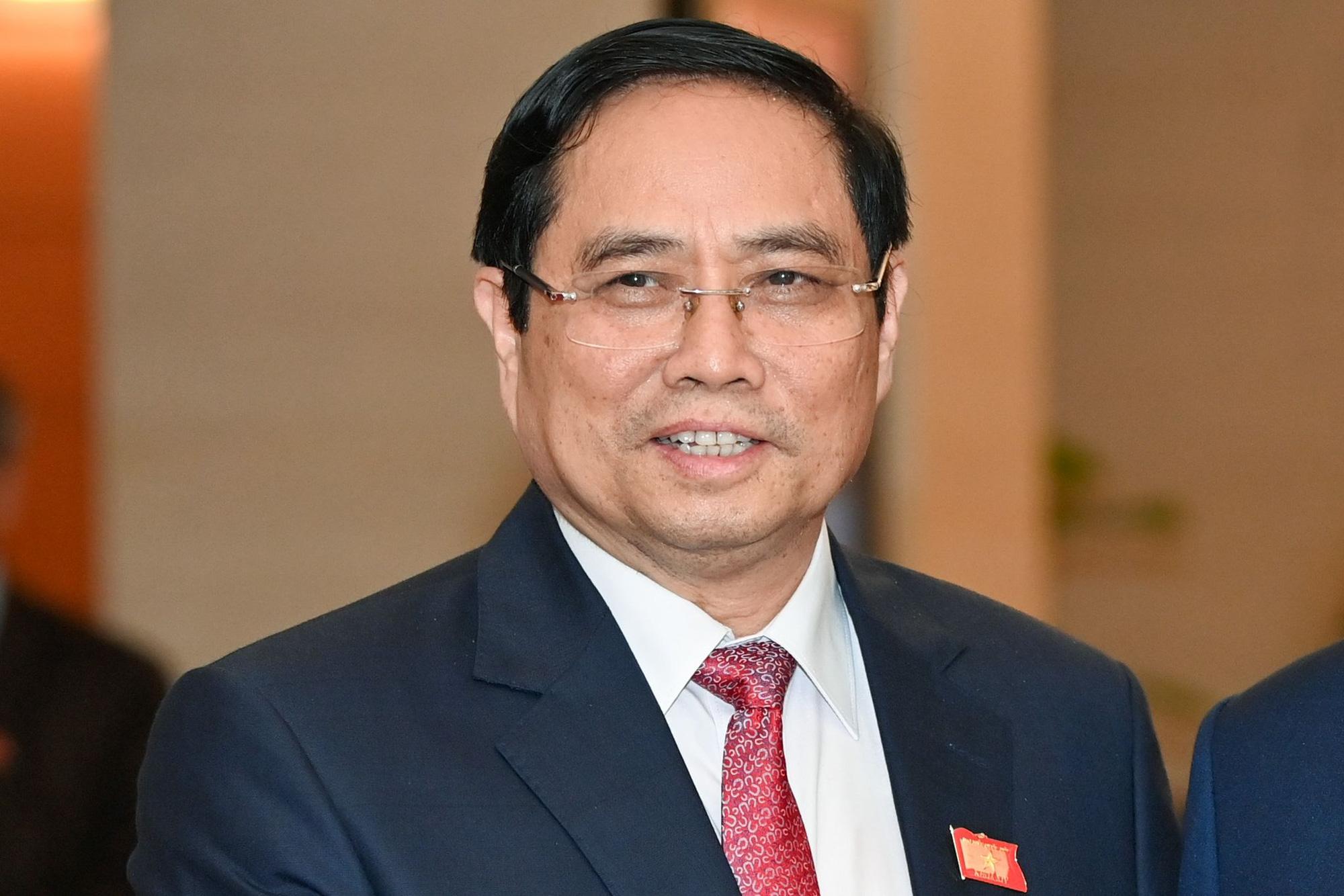Phân công công tác của Thủ tướng và 5 Phó Thủ tướng Chính phủ