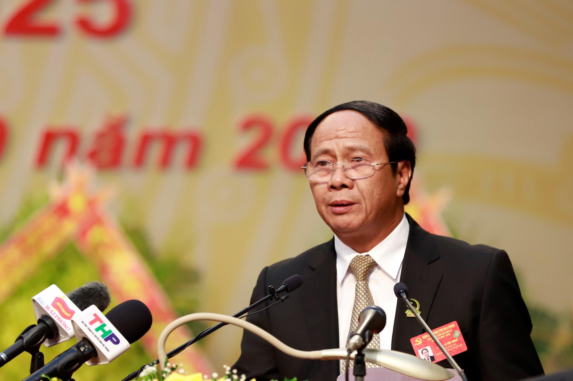 Ông Lê Văn Thành tái đắc cử Bí thư Thành ủy Hải Phòng - Báo Người lao động