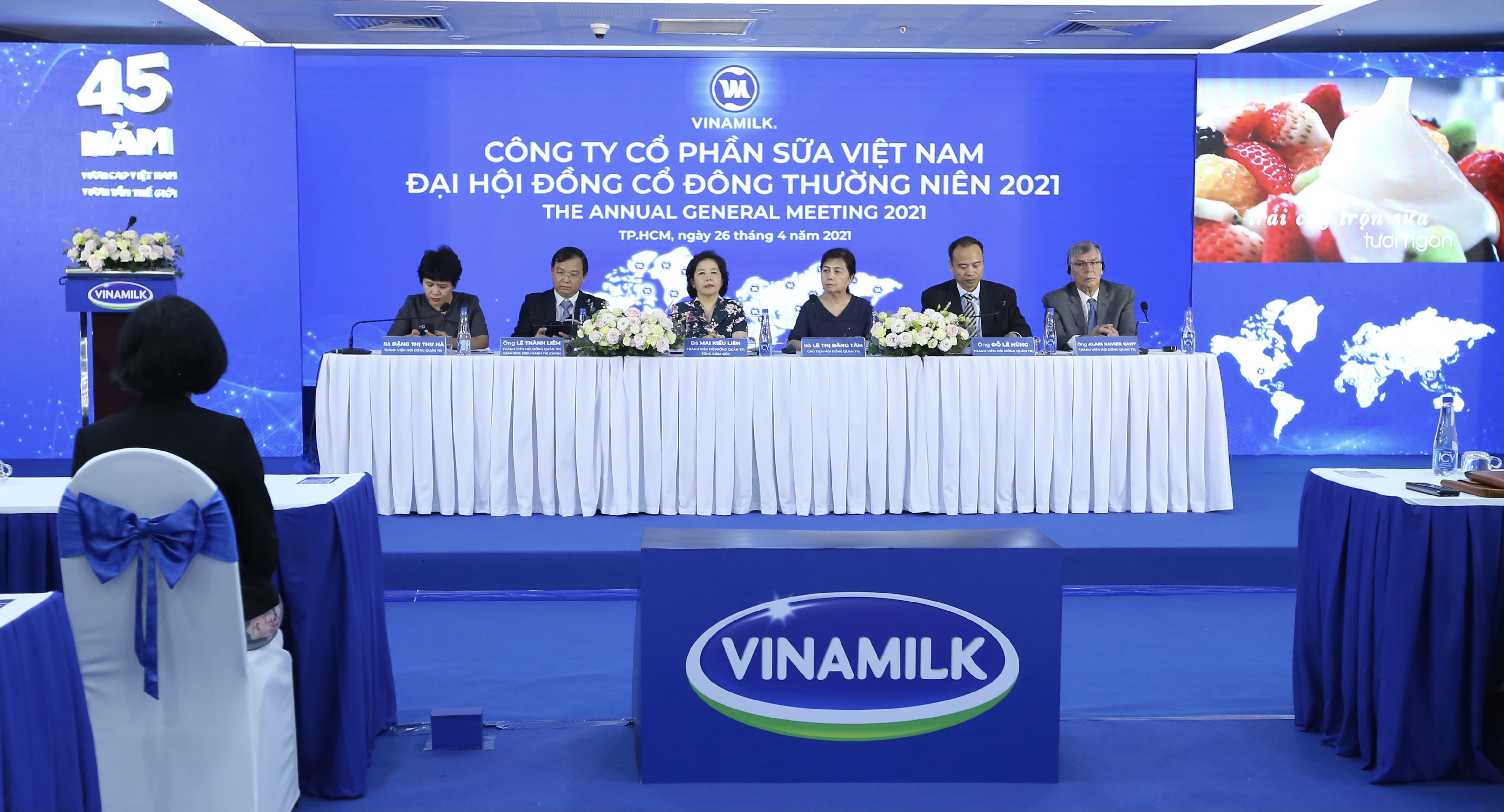 ĐHĐCĐ Vinamilk: Tín hiệu xuất khẩu tích cực 