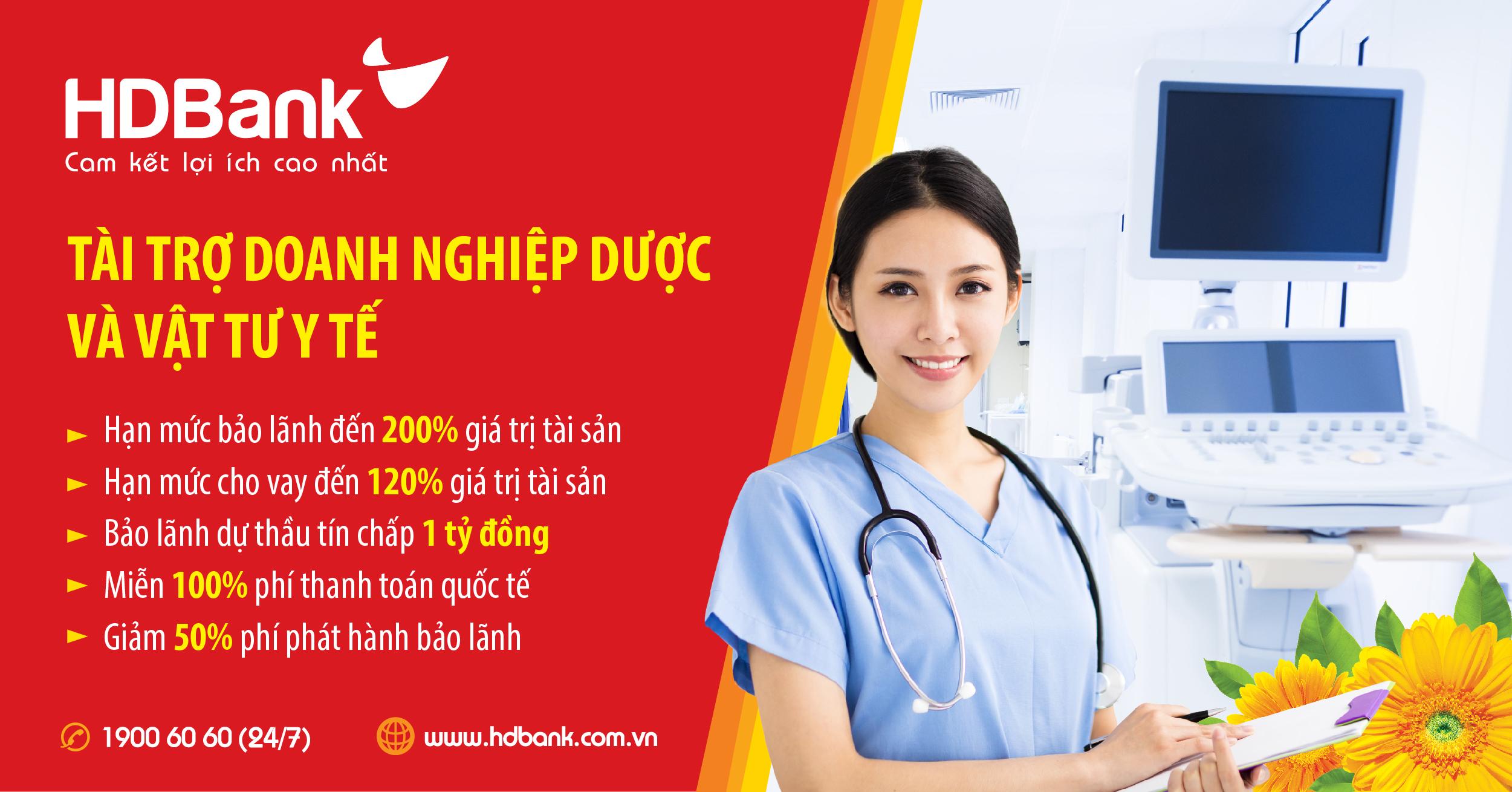 HDBank tiếp tục đẩy mạnh hỗ trợ doanh nghiệp cung cấp dược, thiết bị – vật tư y tế