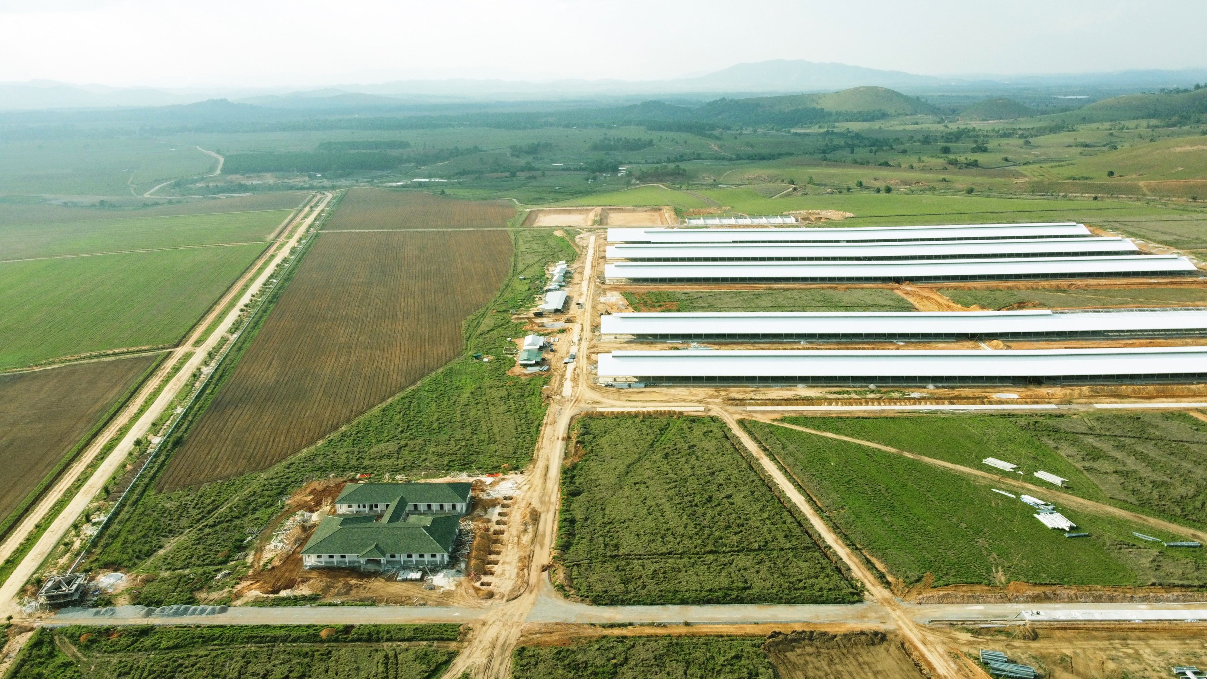Tổ hợp trang trại bò sữa của Vinamilk tại Lào dự kiến đi vào hoạt động từ quý 1/2022