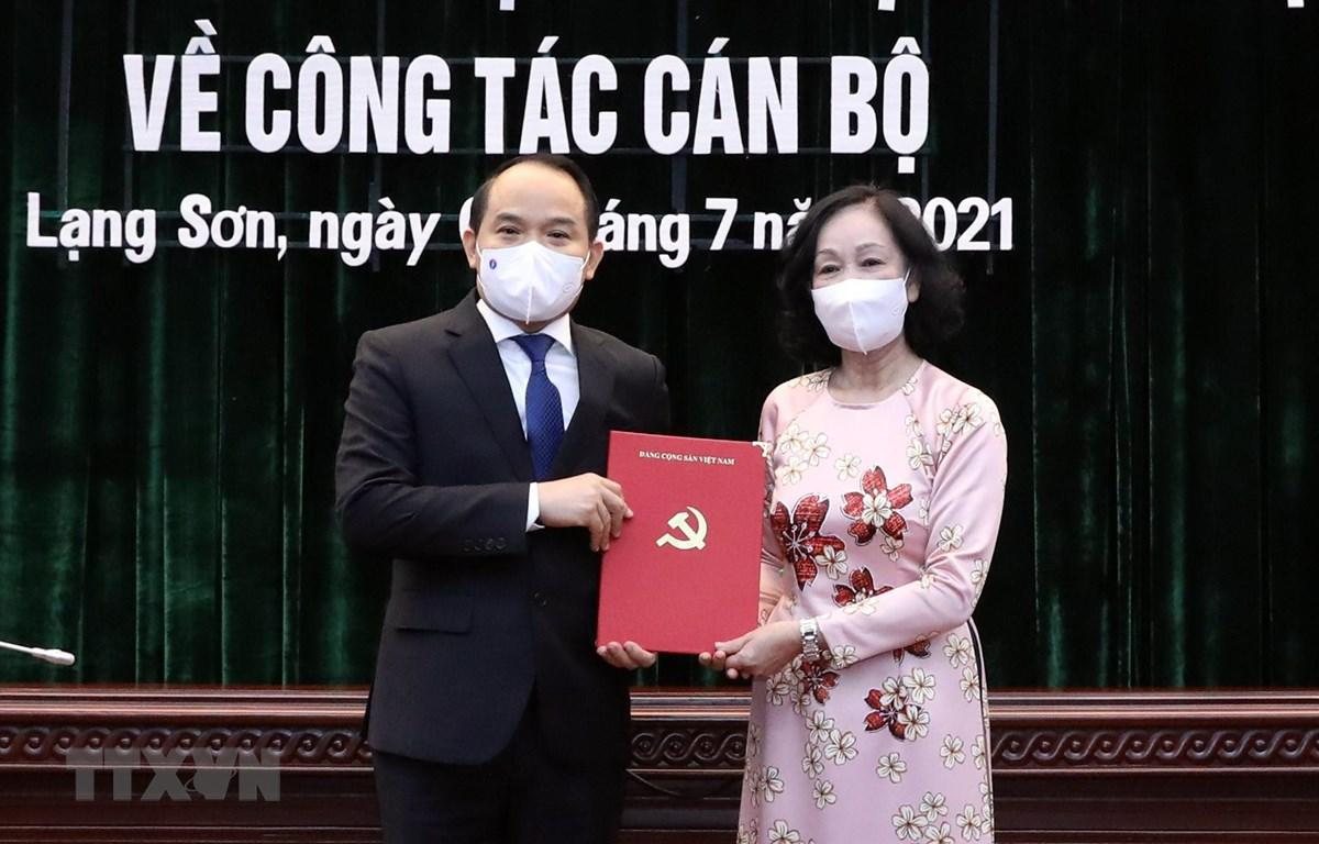 Lạng Sơn có tân Bí thư Tỉnh ủy đến từ Thừa Thiên - Huế