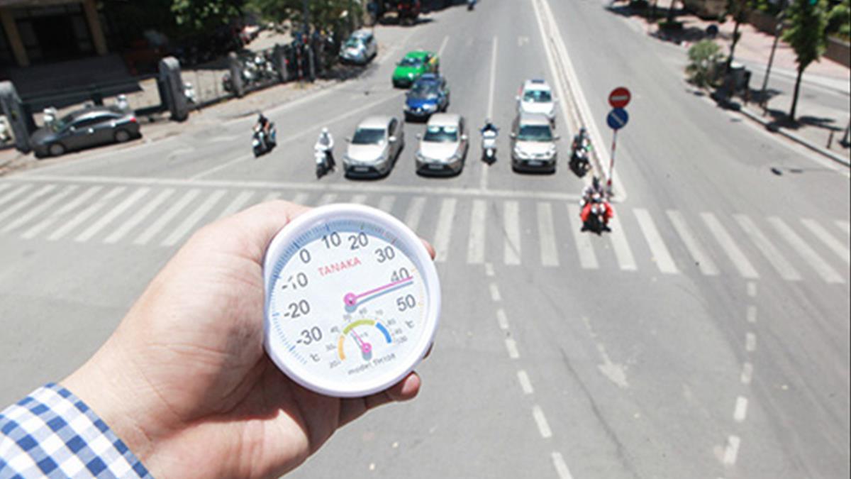 Nắng nóng gay gắt ở Bắc và Trung Bộ vượt ngưỡng 39 độ C