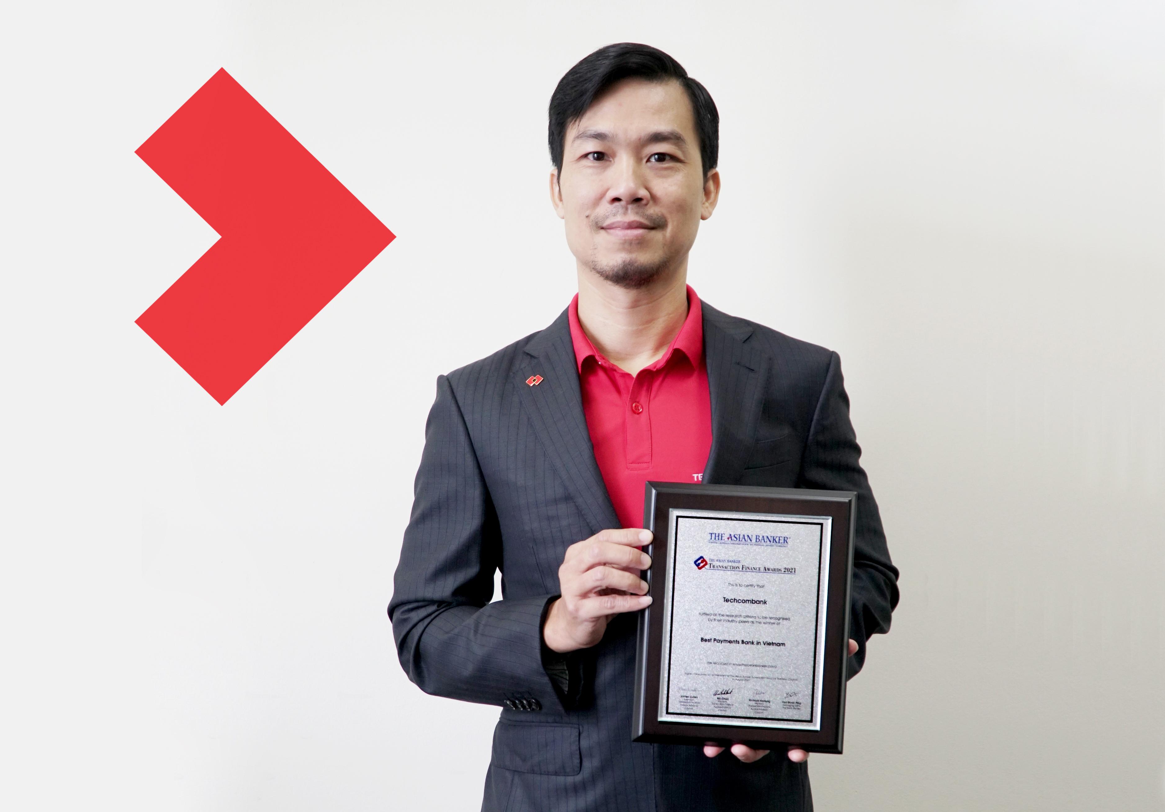 Techcombank giành hai giải thưởng từ The Asian Banker