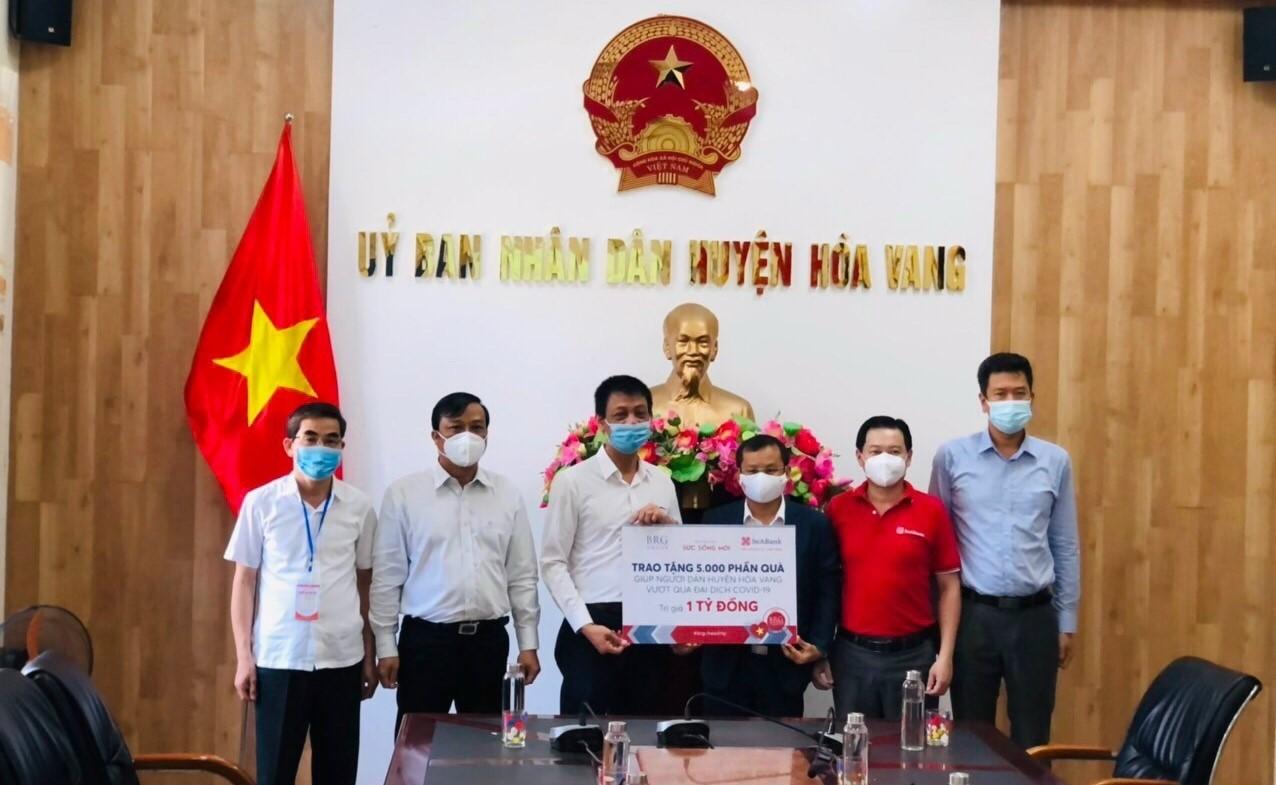 SeABank và Tập đoàn BRG ủng hộ 18 tỷ đồng cho 3 tỉnh thành miền Trung phòng chống COVID-19