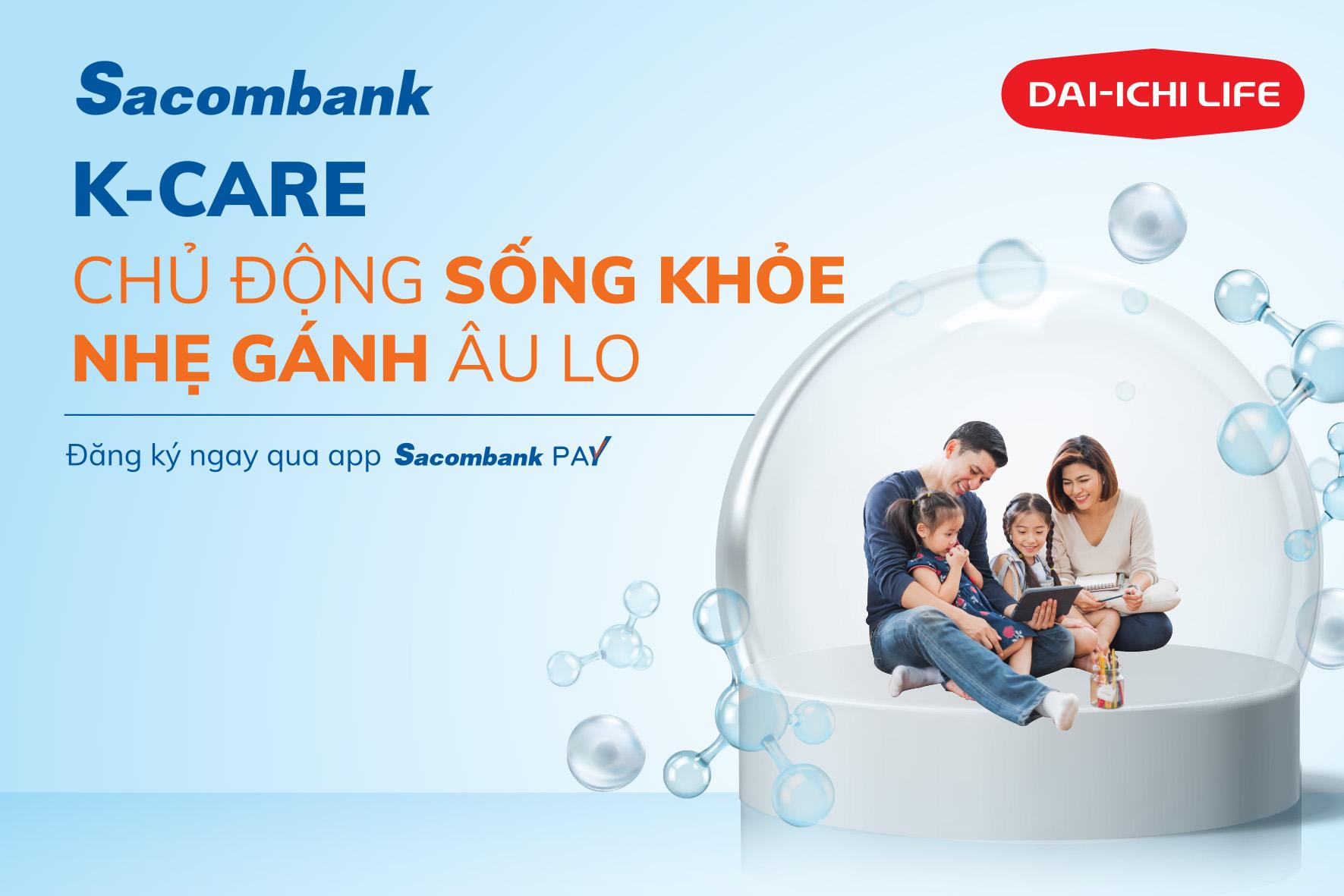 Kỷ niệm 4 năm hợp tác, Sacombank và Dai-ichi Life Việt Nam ra mắt hai sản phẩm mới hiện đại