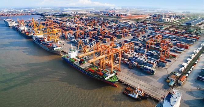 Hàng hoá qua cảng biển Việt Nam tăng 13%