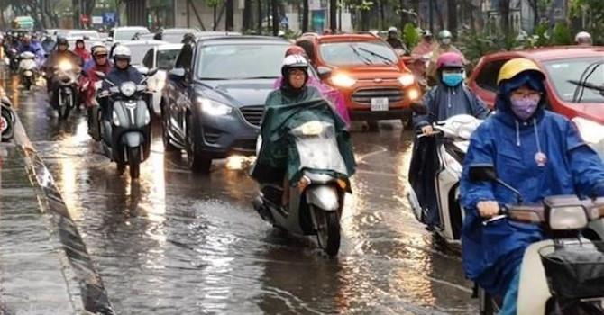 Trung Bộ mưa lớn, Nam Bộ mưa rải rác