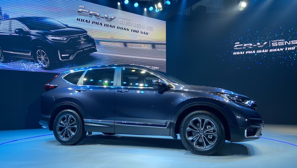 Honda ra mắt CR-V 2020: Thêm tính năng an toàn, giá bán từ 998 triệu