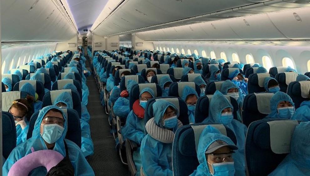 Sẽ đón 3.300 công dân về nước mỗi tuần từ các chuyến bay thương mại