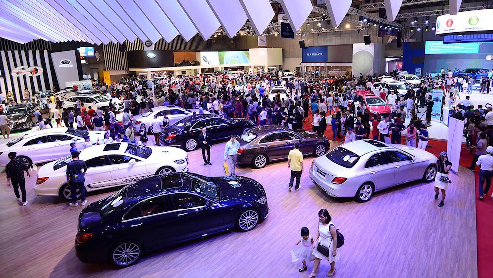 Bước vào dịp cuối năm thị trường ô tô tăng trưởng mạnh