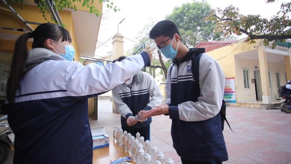 Hà Nội cho học sinh nghỉ học từ ngày 1/2 để phòng chống COVID-19