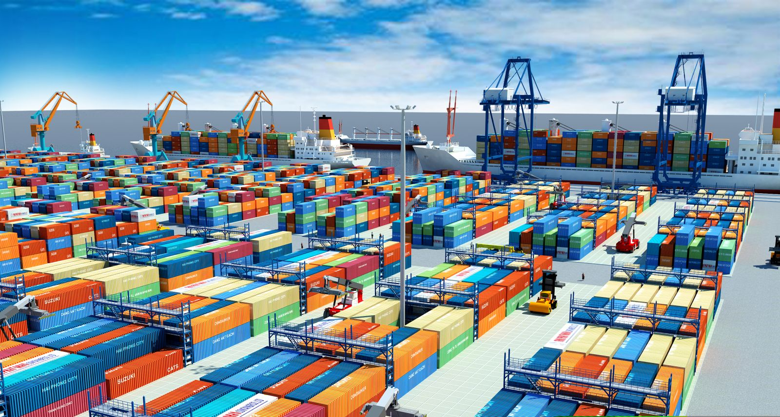 Kim ngạch xuất nhập khẩu của Việt Nam tăng mạnh 2 tháng đầu năm