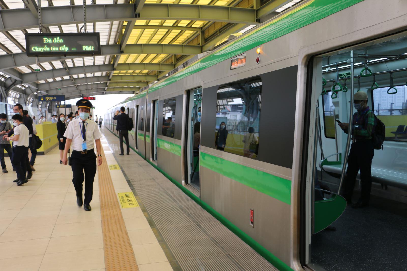 """Thứ trưởng Bộ GTVT: """"Dự án Đường sắt Cát Linh - Hà Đông hoàn thành giai đoạn đầu tư xây dựng"""""""
