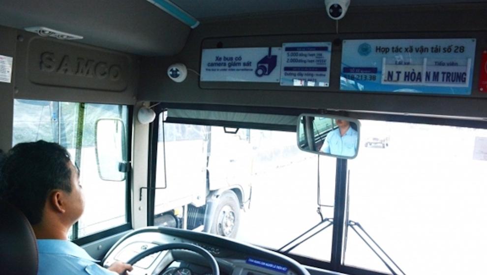 Toàn bộ xe khách phải lắp camera giám sát tài xế trước 1/7