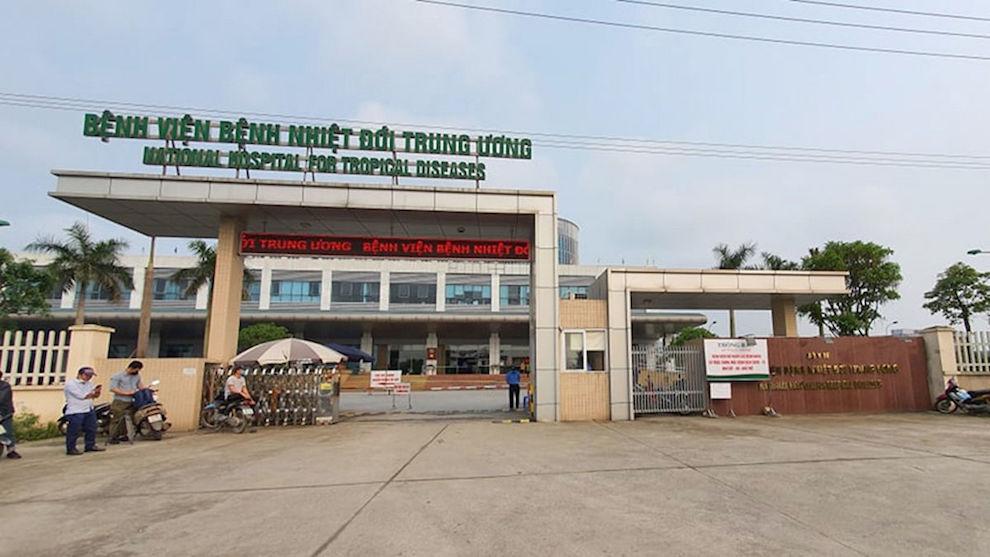 14 ca dương tính tại Bệnh viện Nhiệt đới Trung ương