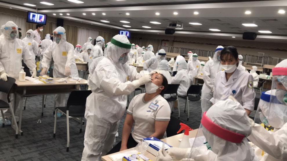 Tăng tốc xét nghiệm, Bắc Giang phát hiện thêm 300 công nhân dương tính với SARS-CoV-2