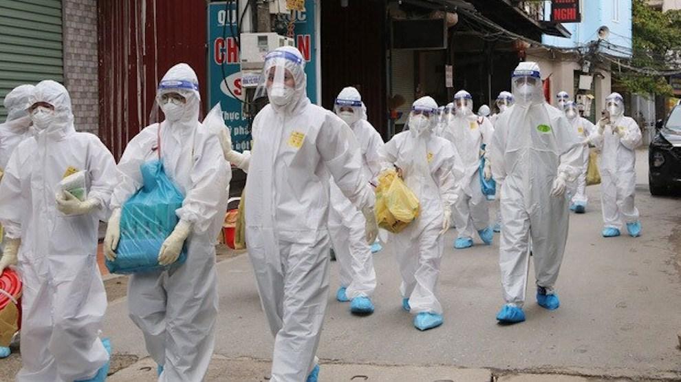 Ba ngày liên tiếp tăng kỷ lục, Việt Nam ghi nhận số ca mắc COVID-19 trong ngày gần 8.000 ca