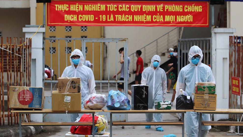 Hà Nội tiếp tục ghi nhận 55 ca mắc COVID-19 gồm 39 trường hợp trong cộng đồng