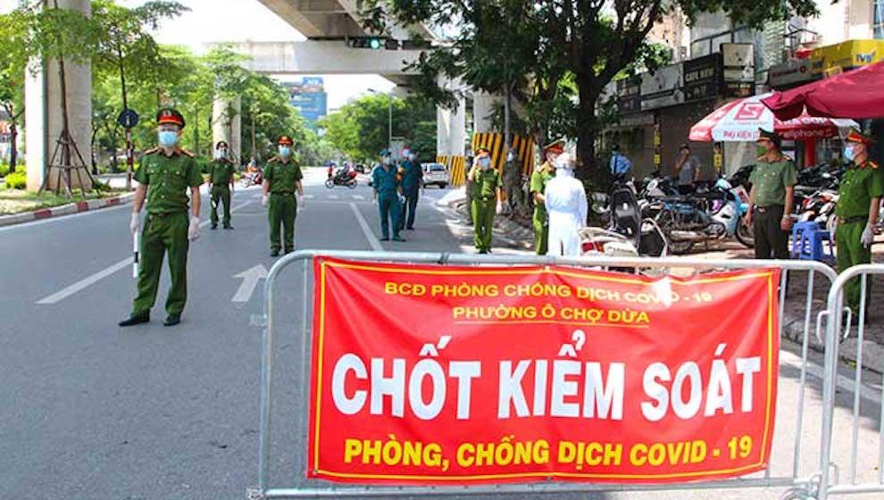 Ngày thứ 2 liên tiếp Hà Nội không phát hiện ca nhiễm mới trong cộng đồng