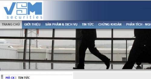 Công ty Chứng khoán do bà Phạm Thị Hinh làm Chủ tịch HĐQT bị kiểm soát đặc biệt