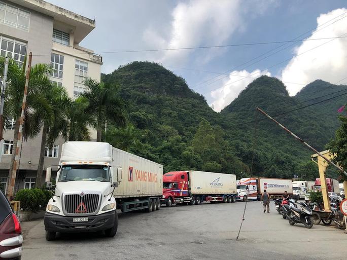 Hàng nghìn xe hàng được xuất - nhập khẩu tại các cửa khẩu biên giới với Trung Quốc