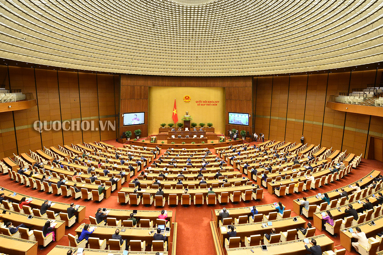 Khai mạc kỳ họp Quốc hội thứ 9 Quốc hội khóa XIV chưa từng có tiền lệ