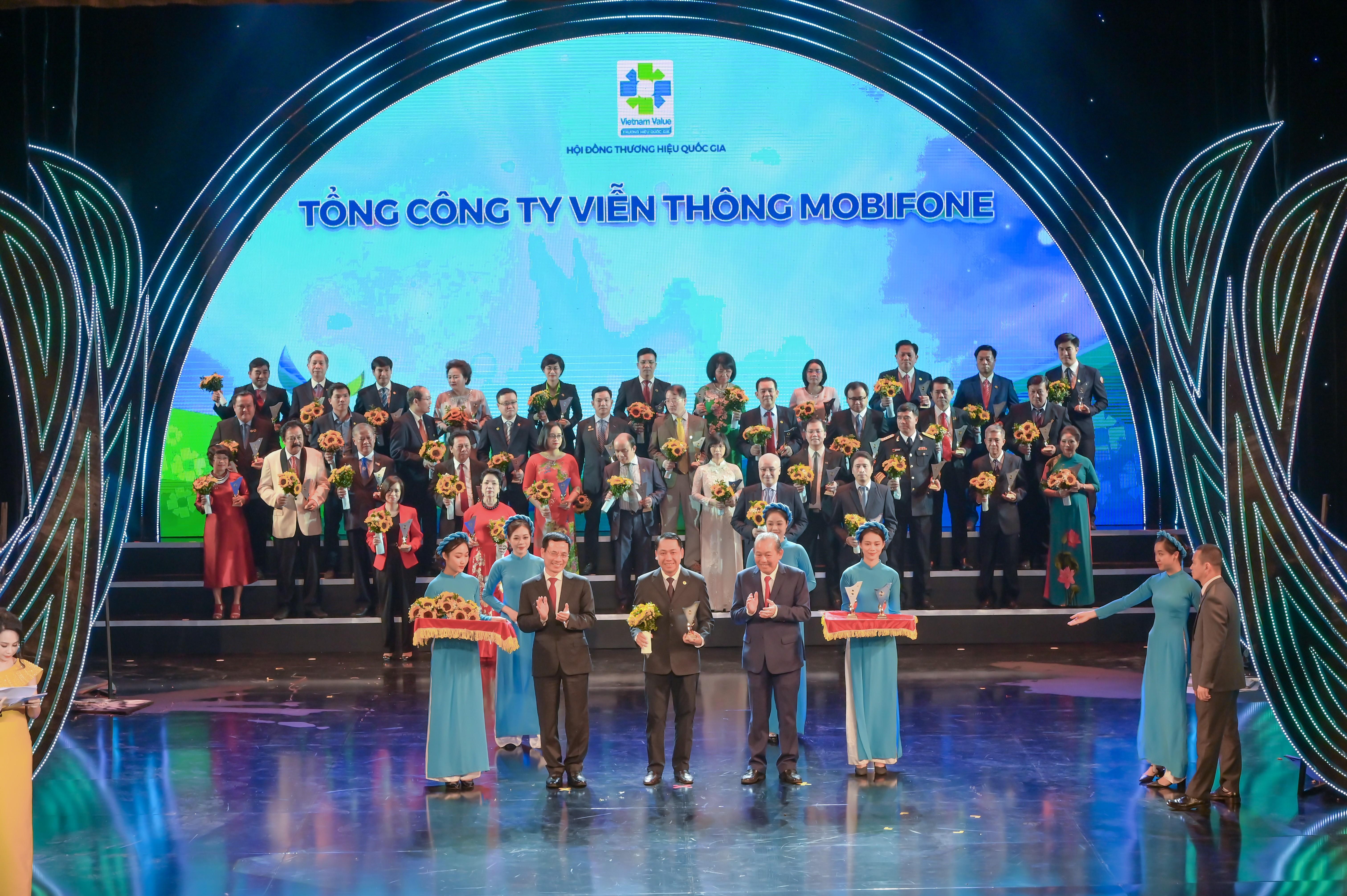 05 giải pháp của MobiFone được công nhận Thương hiệu Quốc gia Việt Nam 2020