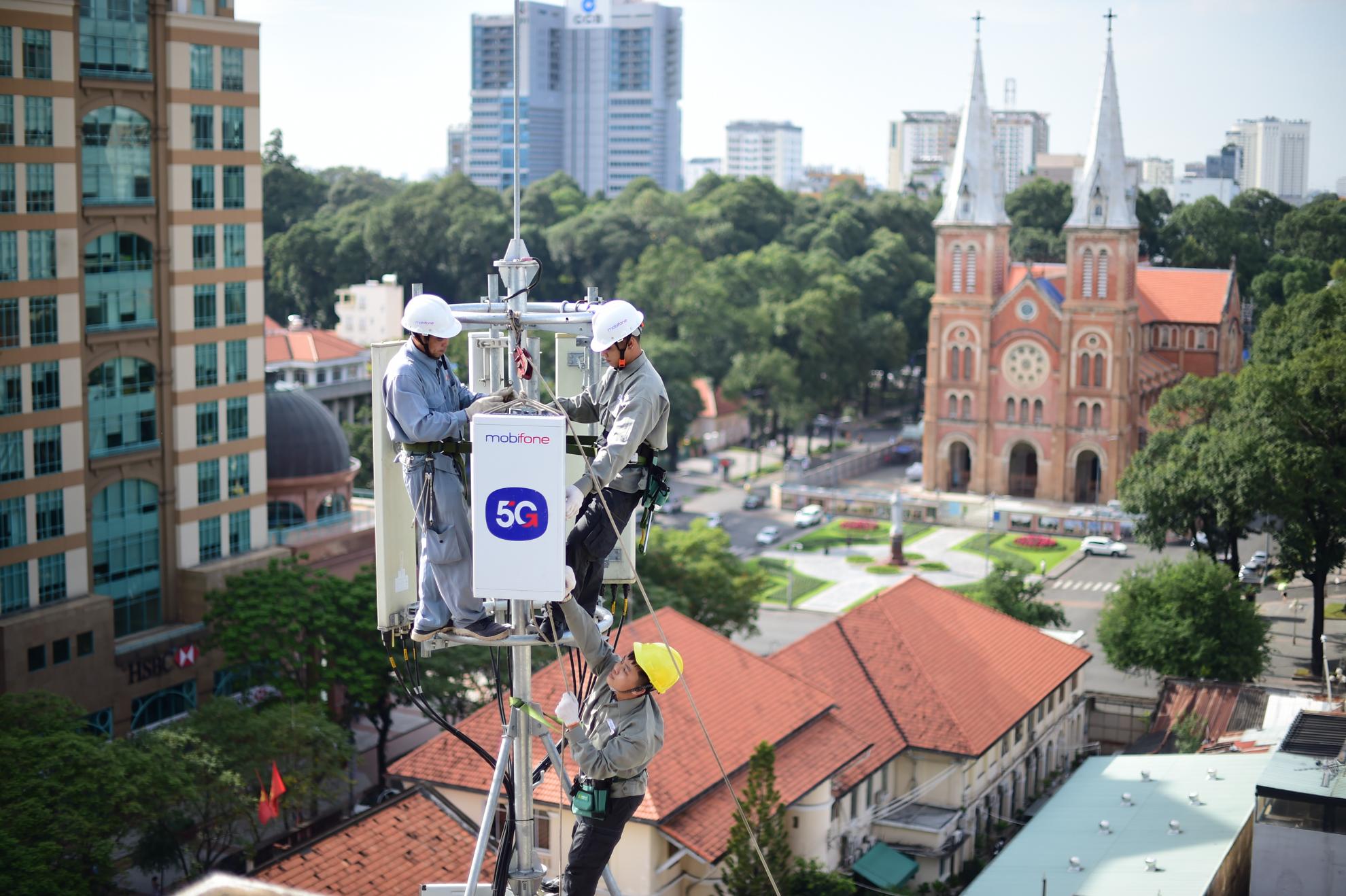 MobiFone thử nghiệm 5G đạt tốc độ 1,5Gbp tại thành phố Hồ Chí Minh