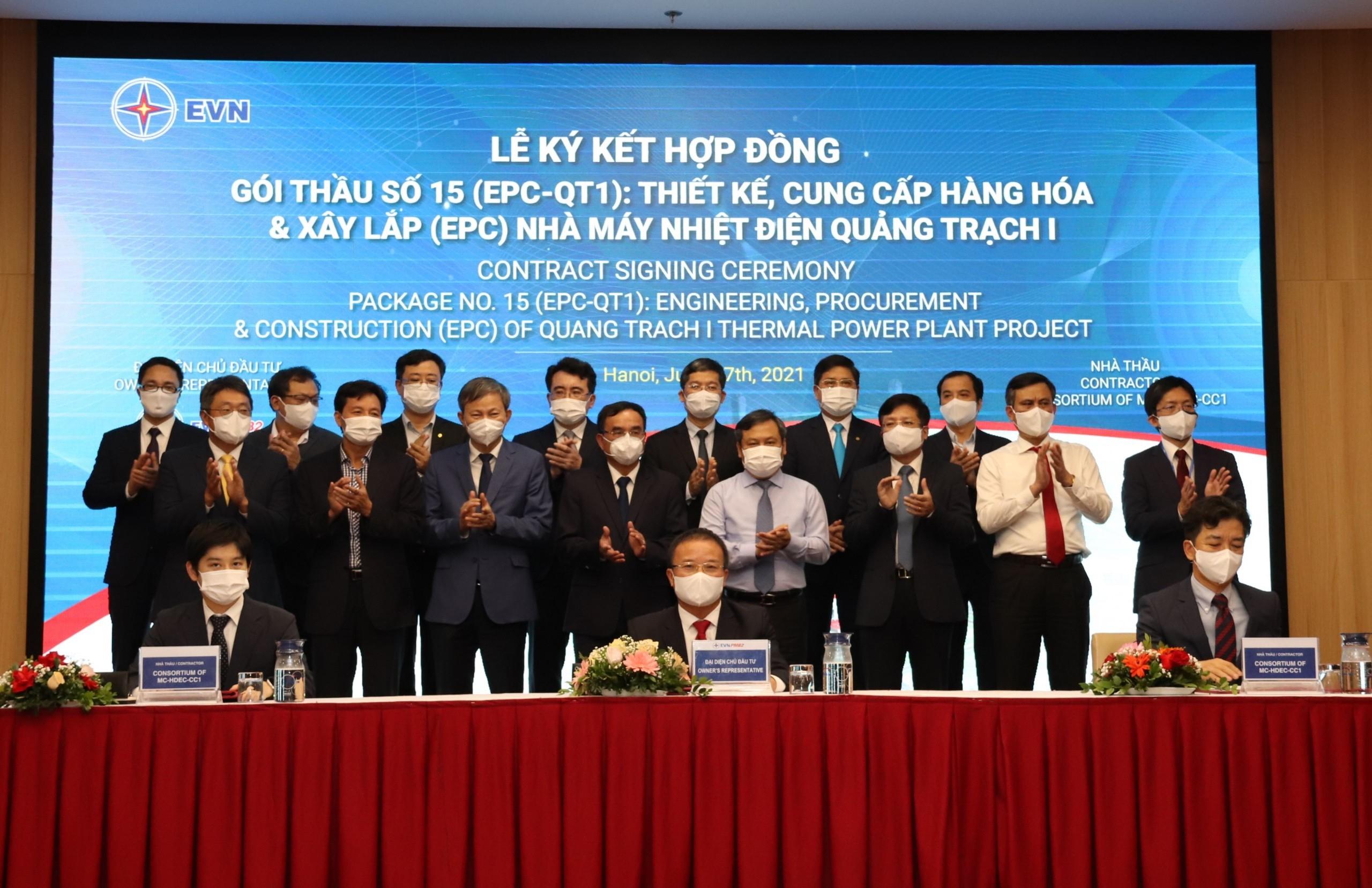 3 doanh nghiệp lớn trúng gói thầu 1,3 tỷ USD Dự án Nhà máy Nhiệt điện Quảng Trạch I