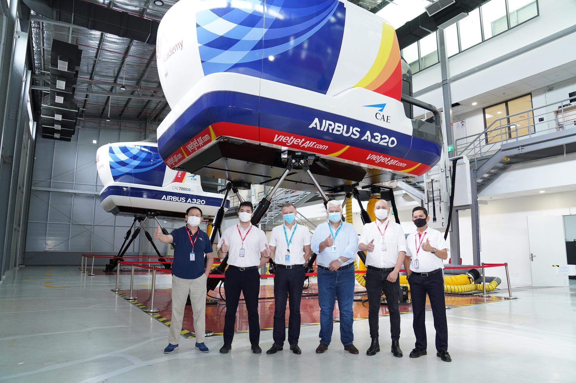 Trung tâm Đào tạo Airbus tại Việt Nam hợp tác với Vietjet cung cấp các khóa học chuyển loại A320