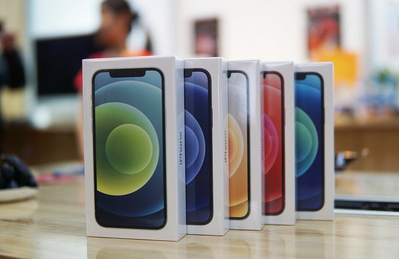 iPhone 12 bán chạy chưa từng có