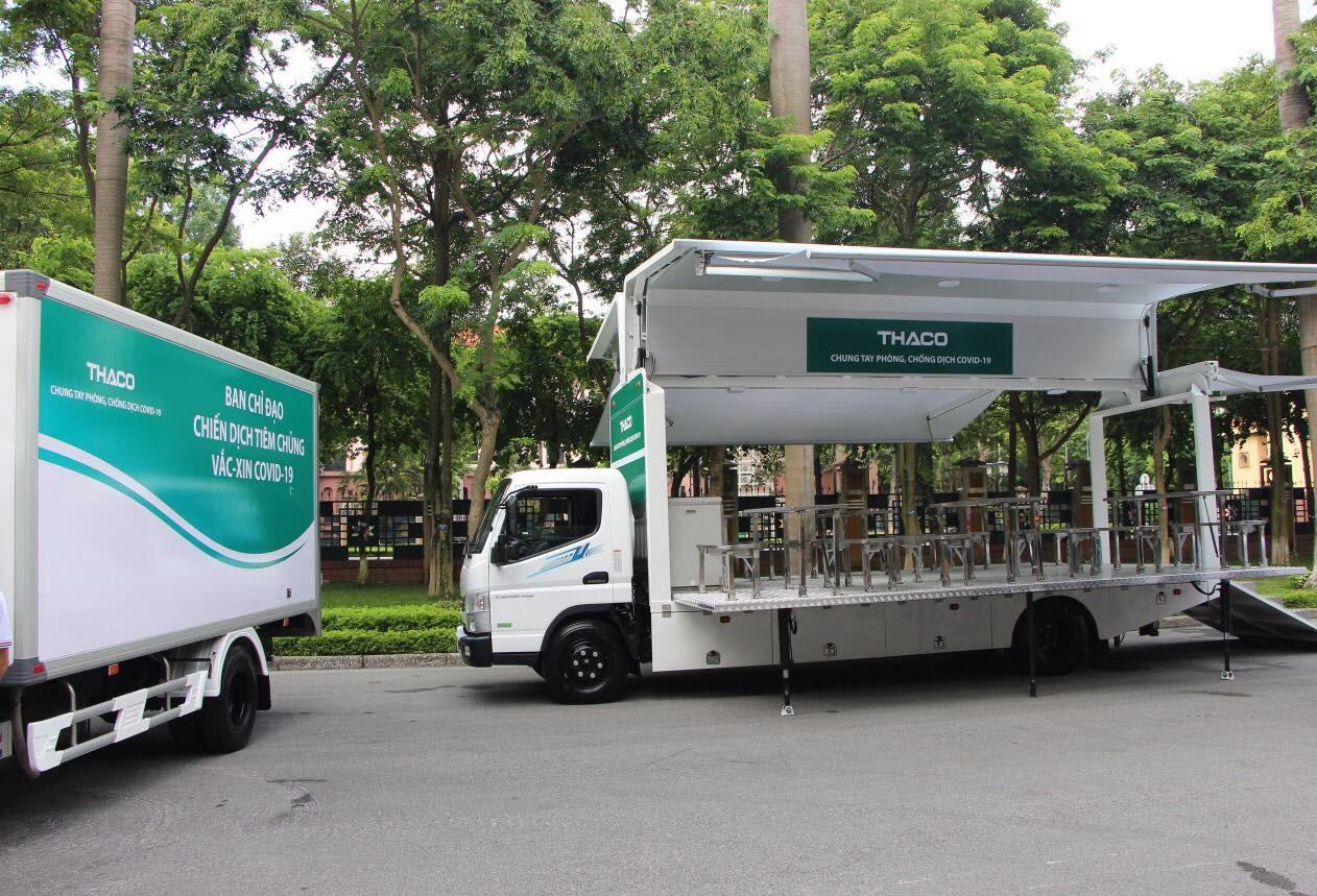 Xe tiêm chủng lưu động của Thaco có gì đặc biệt?