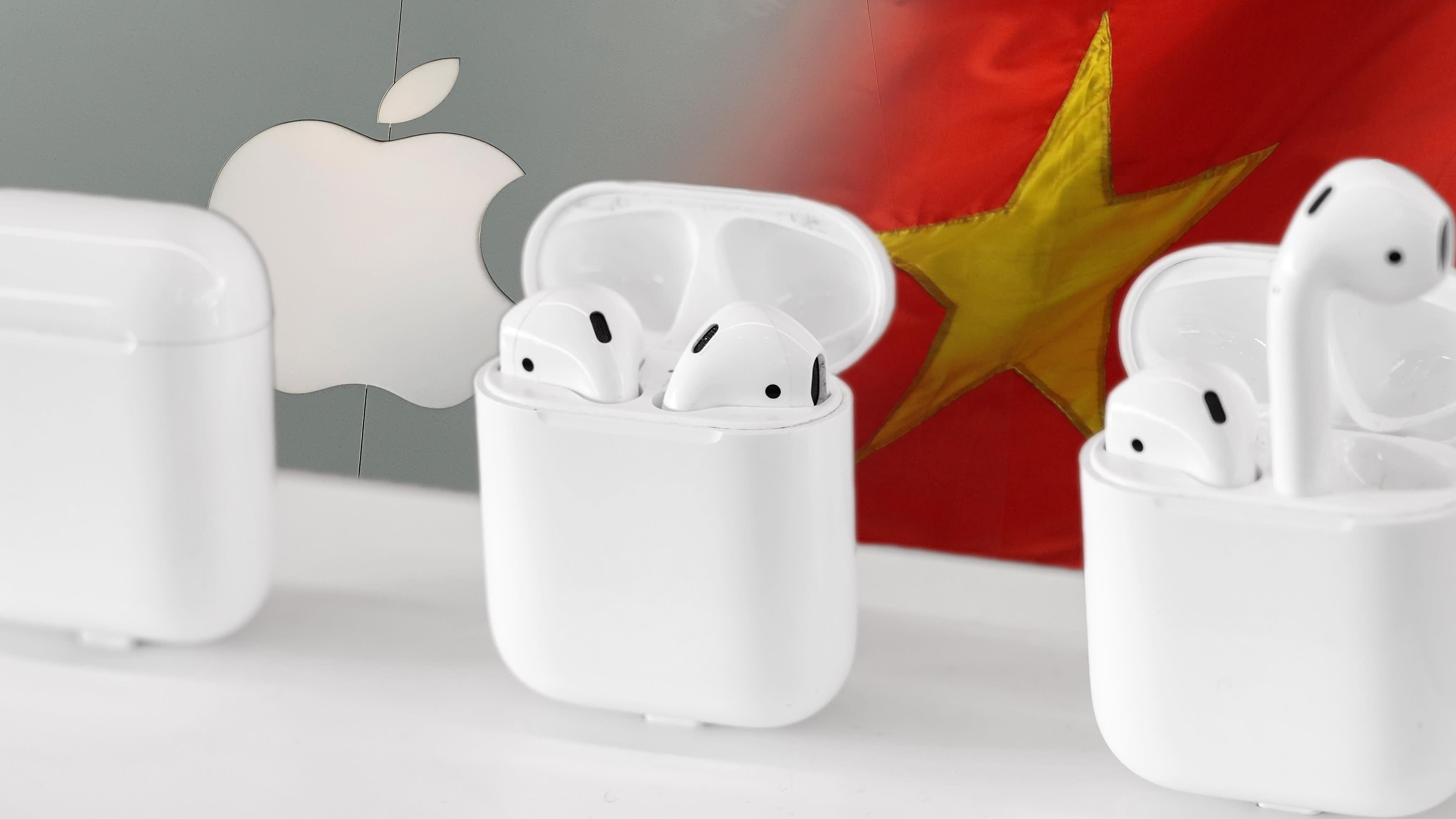 Đối tác của Apple chuyển sản xuất AirPods mới từ Việt Nam sang Trung Quốc