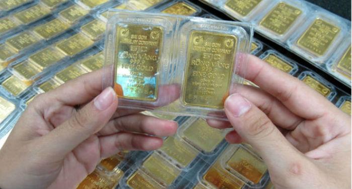 Giá vàng SJC vọt tăng hơn nửa triệu đồng/lượng