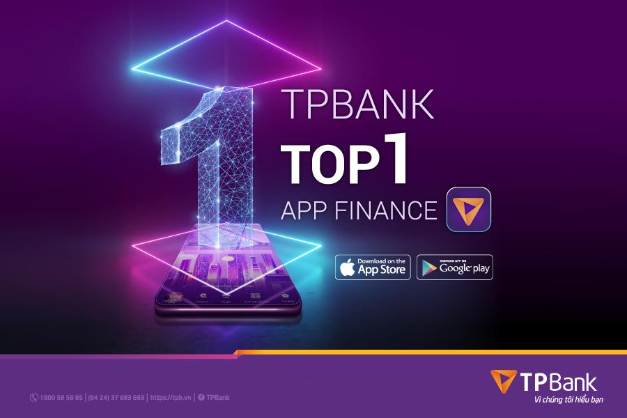 TPBank Mobile - ứng dụng ngân hàng Việt được tải nhiều nhất trên App Store và Google Play