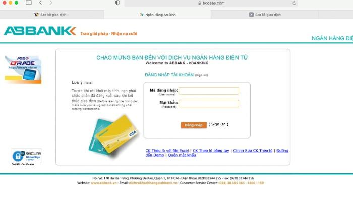 """Lại """"nóng"""" lừa đảo chiếm đoạt tài sản qua giả mạo website ngân hàng"""