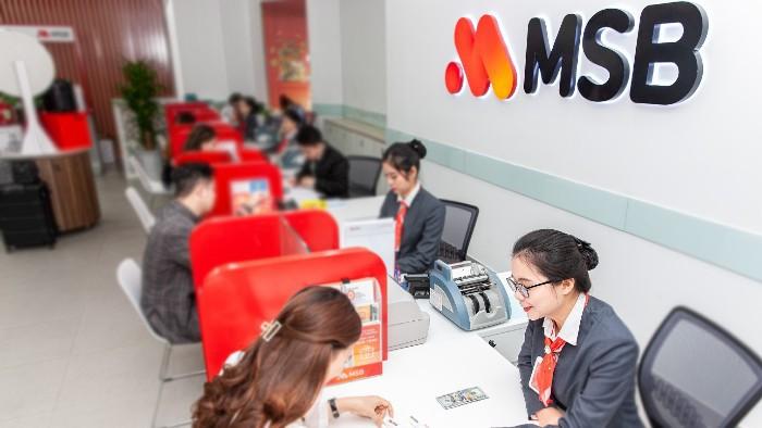 MSB dự kiến chia cổ tức 30% bằng cổ phiếu