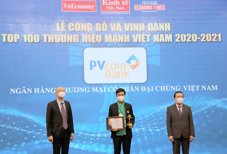 PVcomBank nằm trong Top 100 thương hiệu mạnh Việt Nam năm 2020 – 2021