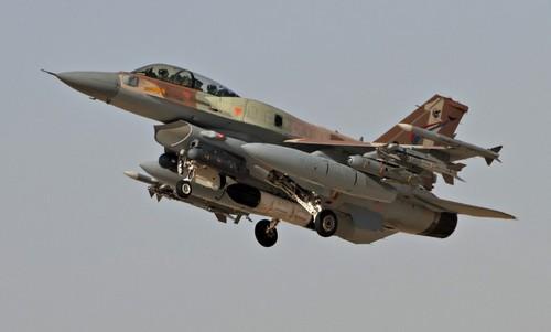 Tiêm kích F-16 Israel xuất phát làm nhiệm vụ năm 2017. Ảnh: IAF.