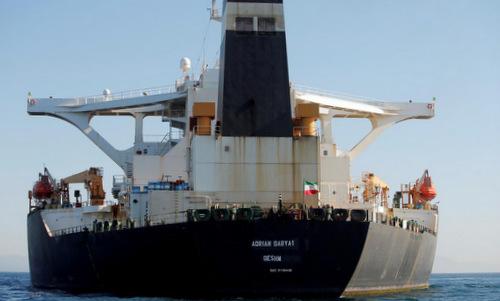 Quân đội Mỹ chưa định bắt siêu tàu dầu Iran