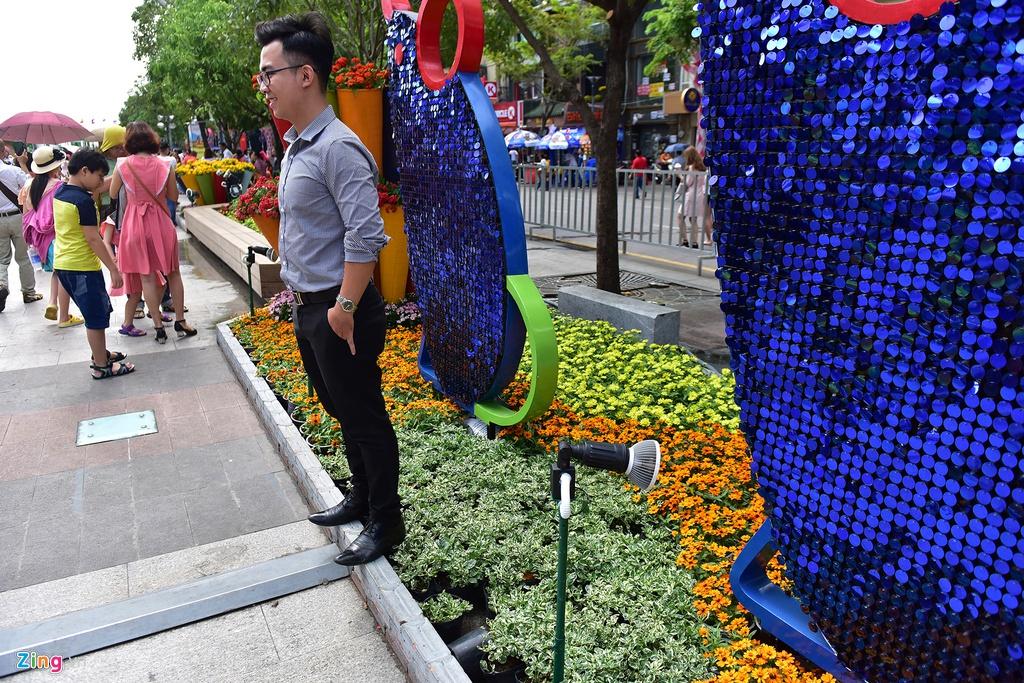 Chua het Tet, hang tram chau hoa bi dap nat o duong hoa Nguyen Hue hinh anh 4 duong_hoa_mong_3_tet_5_zing.JPG