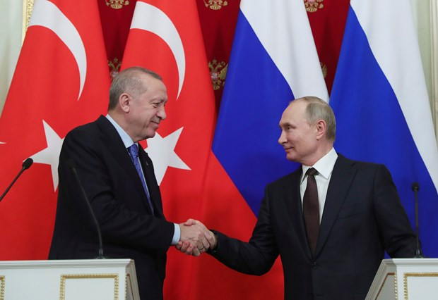 Nga, Thổ Nhĩ Kỳ nhất trí về một lệnh ngừng bắn tại Idlib